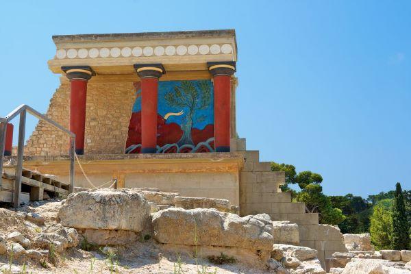The palace of Knossos image